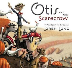 Otis and the scarecrow book cover