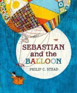 Sebastian and the balloon book cover