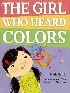 The girl who heard colors book cover