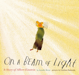 On a beam of light book cover