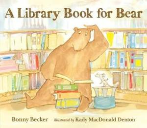 A library book for bear book cover