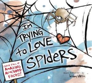 I'm trying to love spiders book cover