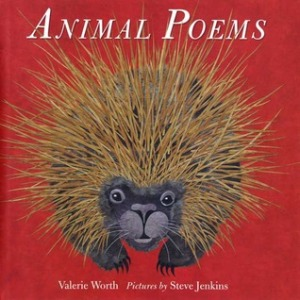 animal poems book cover