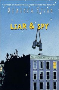 Liar & spy book cover