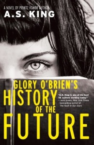 Glory O'Brien's history of the future book cover