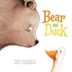 Bear and duck book cover