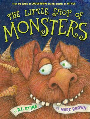 The little shop of monsters book cover