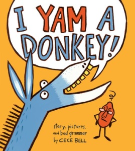 I yam a donkey book cover