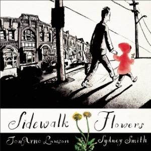 Sidewalk Flowers book cover