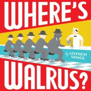 Where's Walrus? book cover