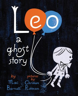 Leo a ghost story book cover