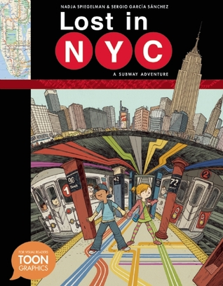 Lost in NYC book cover
