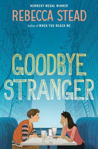 Goodbye Stranger book cover