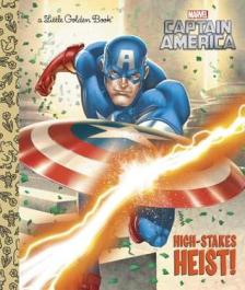 Captain America: High-Stakes Heist! book cover