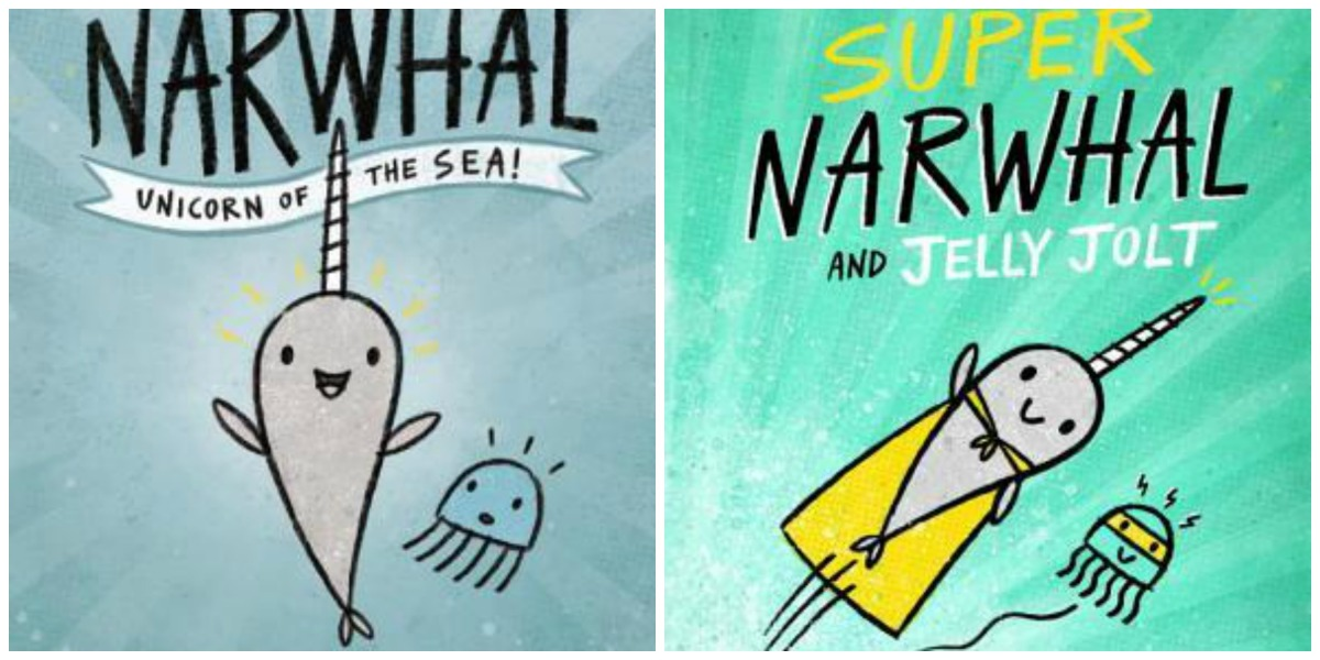 Narwhal and Jelly books